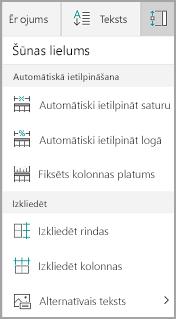 Windows Mobile pogas attēls