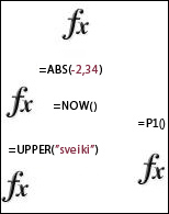 Excel funkcijas