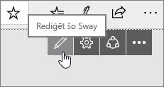 Poga rediģēt šo Sway