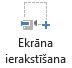 Ekrāna ierakstīšanas pogas cilnes ierakstīšana programmā PowerPoint 2016