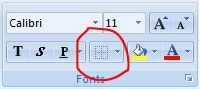 Programmas Excel lentes attēls