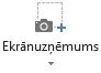 Kvadrātveida, cilnes ierakstīšana programmā PowerPoint 2016