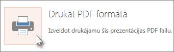 Drukāt slaidus kā PDF