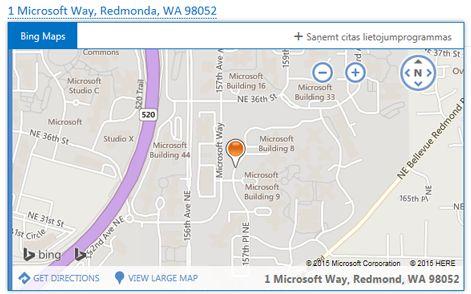 Bing kartes