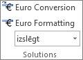 Eiro konvertēšana un Eiro formatēšana