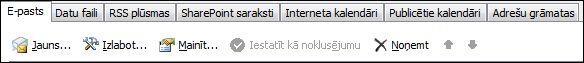Outlook2010 Pievienot jaunu kontu