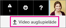 Office 365 video poga Augšupielādēt video