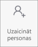 Personu uzaicināšanas poga programmā OneDroid darbam ar Android