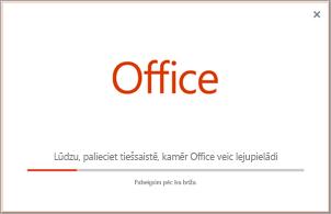 Programmas Office instalēšanas norise