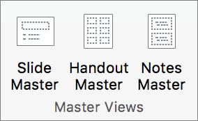 Cilnē Skats noklikšķiniet uz Slaidu šablons.