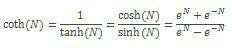 COTH vienādojums