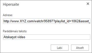 Nokopējiet URL