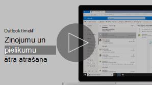 E-pasta video atrašanas sīktēls