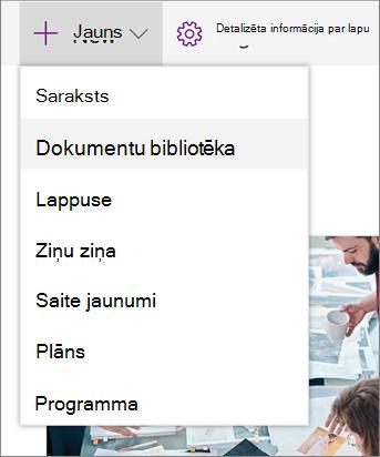 SPO pievienošana sarakstam vai bibliotēkai