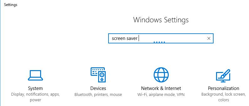 Windows iestatījumus