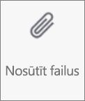 Failu nosūtīšanas poga programmā OneDrive operētājsistēmai Android