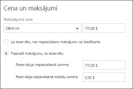 Ekrāna tveršanas: attēlojot nepieciešamos maksājumus pakalpojums