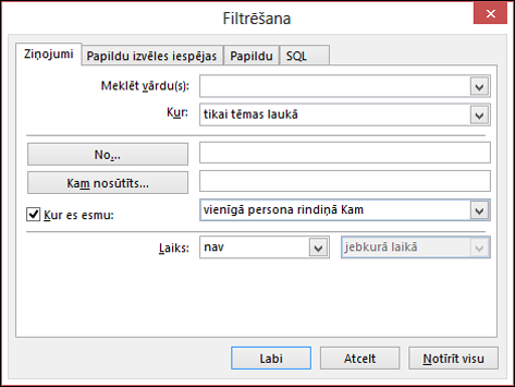 Atlasiet Pievienot jaunu nosacījumformatēšanas kārtulas izveide.