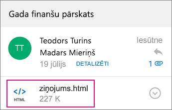 OME skatītājs ar Outlook darbam ar Android 1