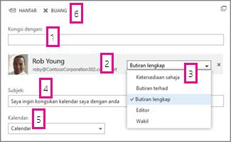 Share Calendar in Office Web App