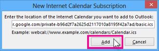 langganan kalendar internet