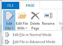 Butang Edit Fail