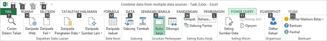 Petua Kekunci Reben Penjelajah Data 2