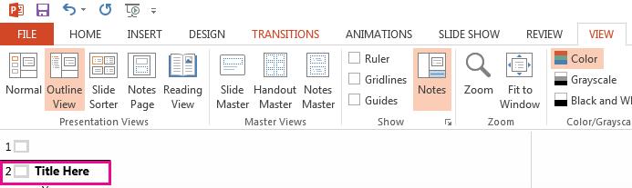 Slaid 2 mempunyai tajuk.