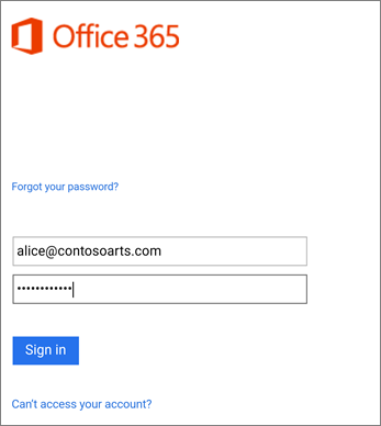 Daftar Masuk ke akaun organisasi anda dalam Outlook