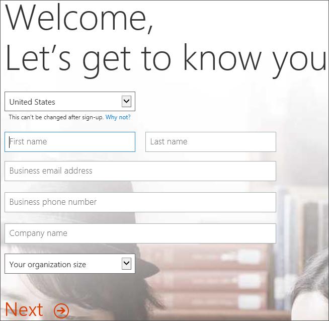 Menunjukkan selamat datang, membolehkan mengenali anda halaman. Masukkan butiran daftar diri anda di sini.
