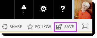 Simpan perubahan ke laman SharePoint Online