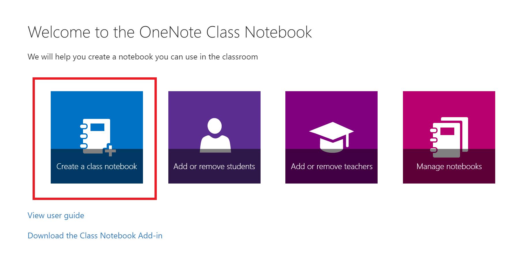 Petikan skrin halaman selamat datang aplikasi Buku Nota Kelas.