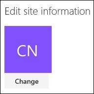 Mengubah logo untuk laman SharePoint anda