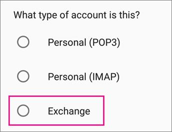 Pilih Exchange
