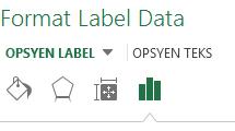 Anak tetingkap Format Label Data