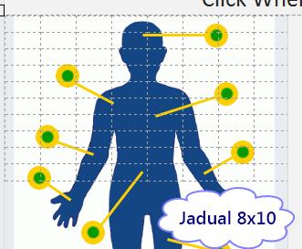 Jadual 8 X 10