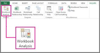 Perintah Analisis Buku Kerja