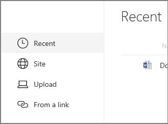 Selitkan bahagian Web dokumen