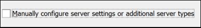 Pilih persediaan manual untuk e-mel Gmail