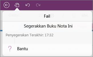 Butang menu fail
