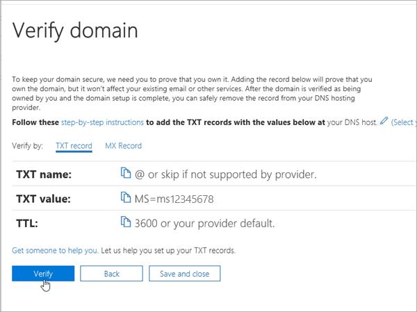 Domainnameshop mengesahkan dalam Office 365_C3_20176279953