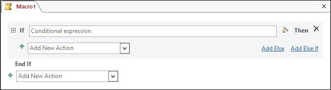 Blok makro IfThenElse dalam Access
