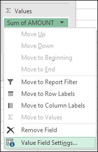 Dialog seting medan nilai Excel
