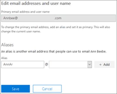 Taipkan alamat e-mel baru dan kemudian pilih Tambah pengguna