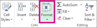 Pada tab Rumah, klik Format