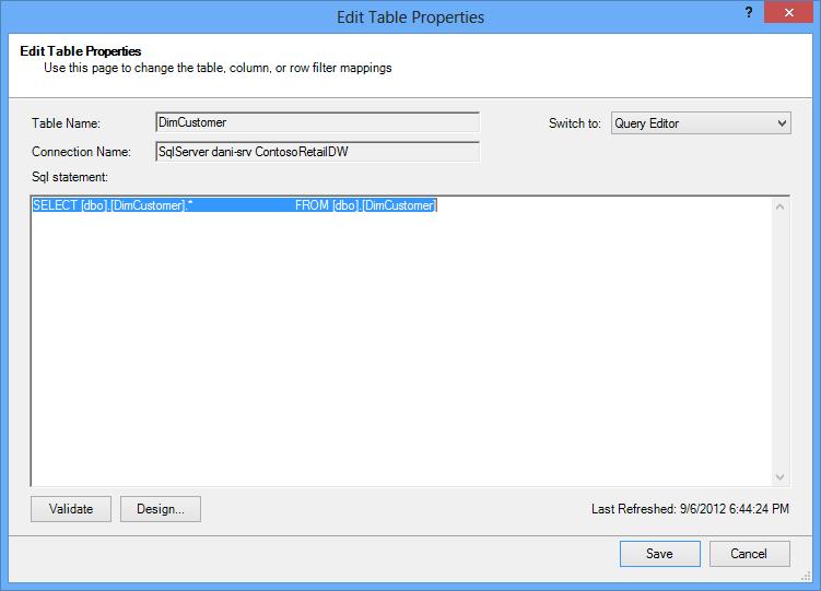 Pertanyaan SQL menggunakan sintaks lalai dan lebih pendek