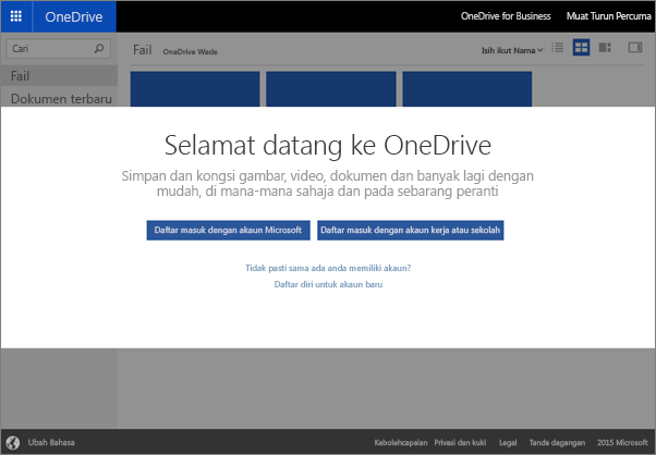 Welcome to OneDrive, where you can store, sync, and share files with others