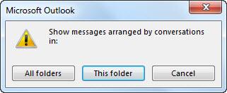 Kotak dialog diubah di mana folder menggunakan Perbualan