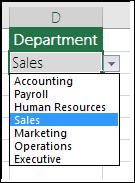 Senarai Jabatan