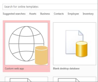 Butang aplikasi web tersuai pada skrin permulaan.